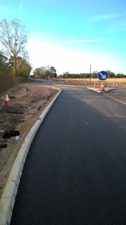 Holt Road New Drayton Lane roundabout
