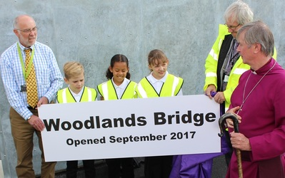 Bridge naming and blessing at Spixworth