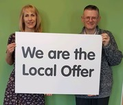 We are the local offer poster