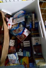 Seized cigarettes