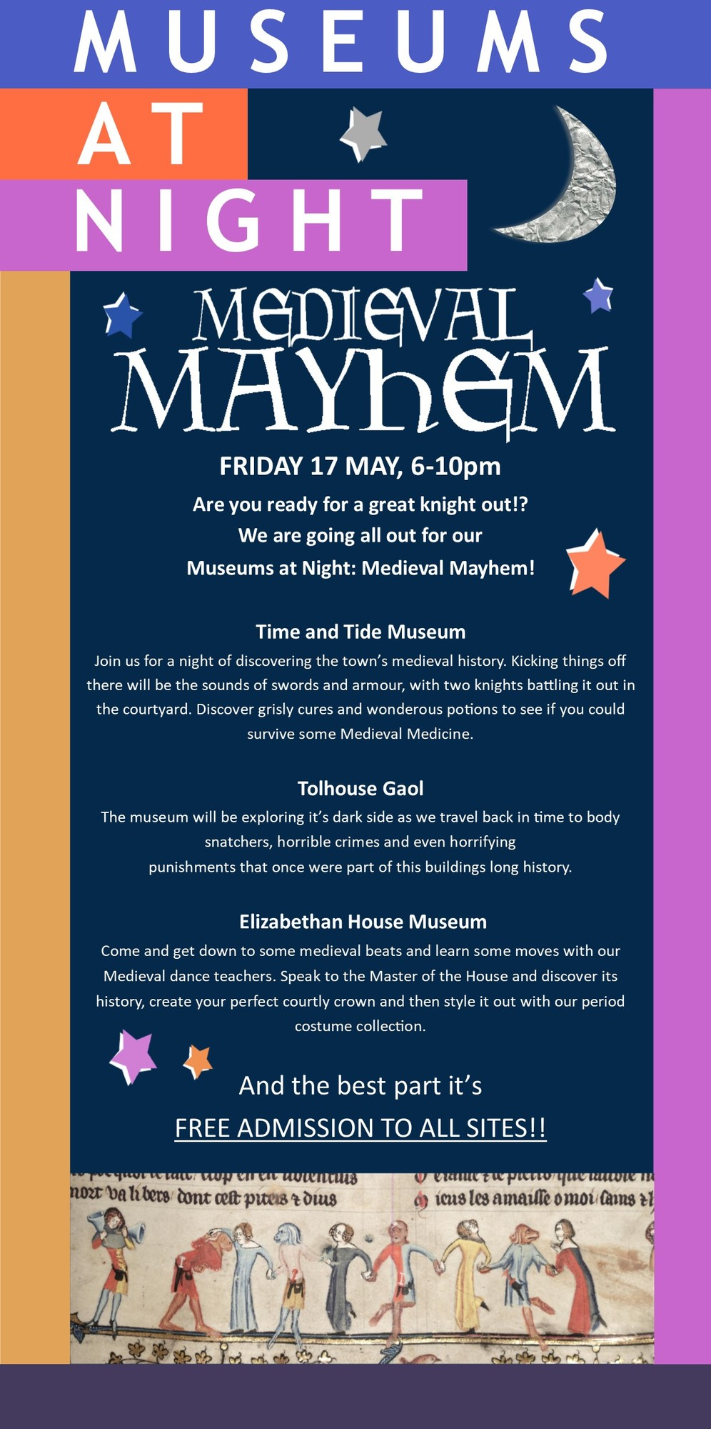 Great Yarmouth Museums present Museums at Night: Medieval Mayhem!