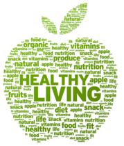 Health living apple