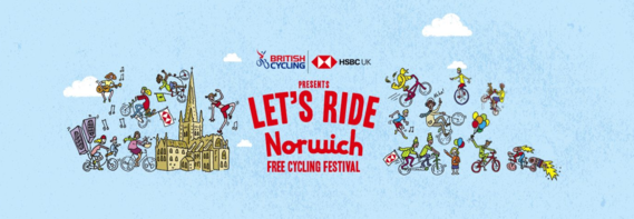 British Cycling Let's Ride Norwich