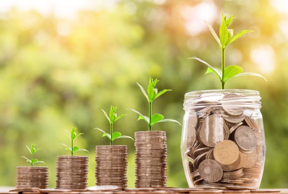 Savings growing