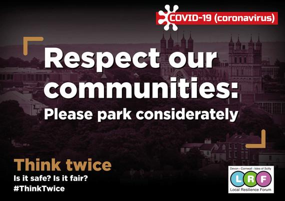 Think Twice - park considerately