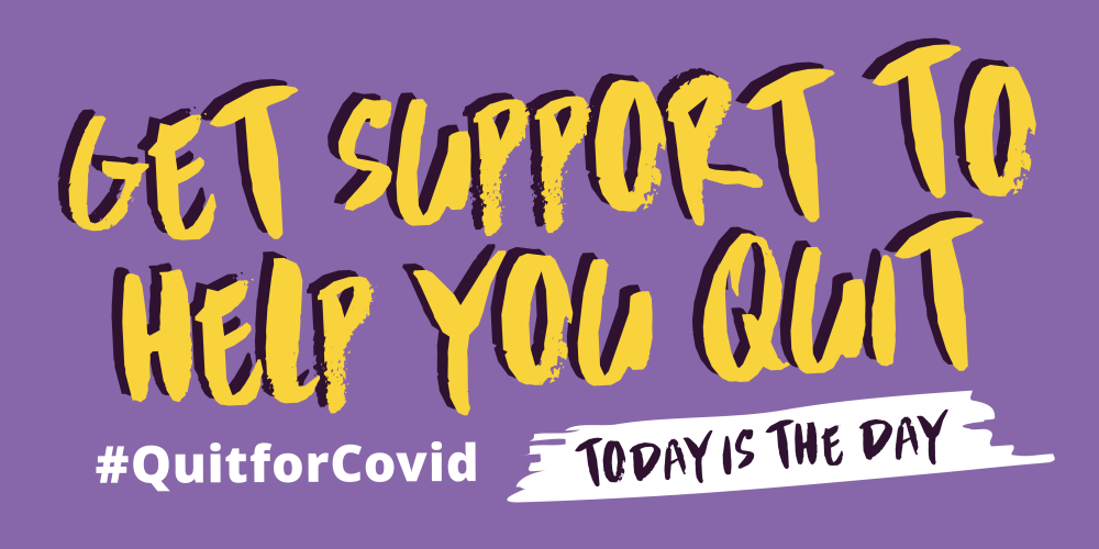 Quit for Covid Logo