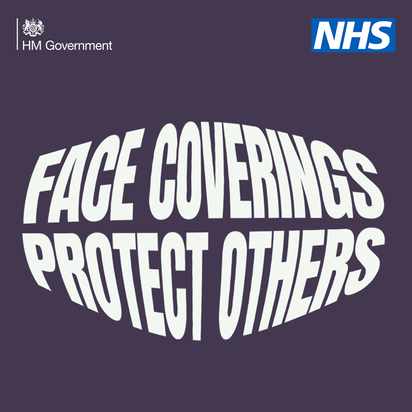 Face coverings protect others
