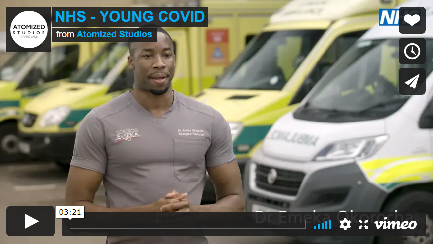 NHS Young Covid video
