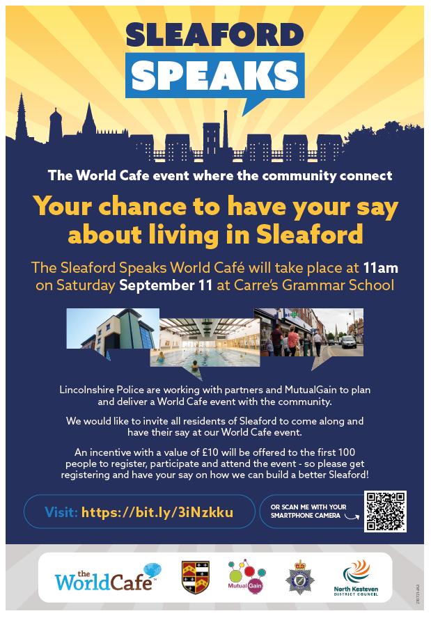 Sleaford speaks