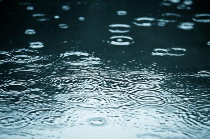 Floods - raindrops