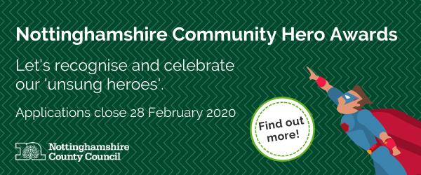 Community heroes banner