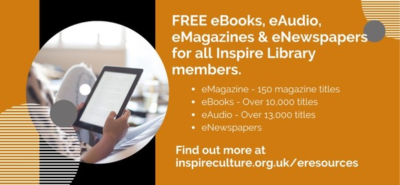 a range of online books and magazines through Inspire Online