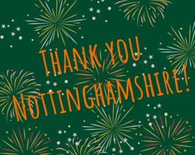 Thank you Nottinghamshire