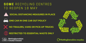 Recycling centres