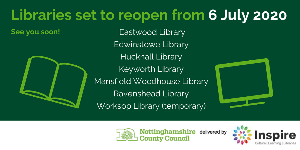 7 libraries set to reopen