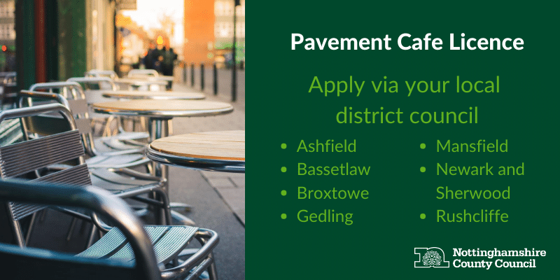 Pavement cafe licence