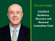 Cllr John Knight Committee Chair