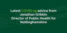 Latest advice on preventing the spread of Covid-19 in Nottinghamshire