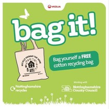 Win a cotton recycling bag