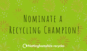 Nominate a recycling champion