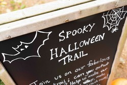 Spooky Halloween Trail at Sherwood Forest