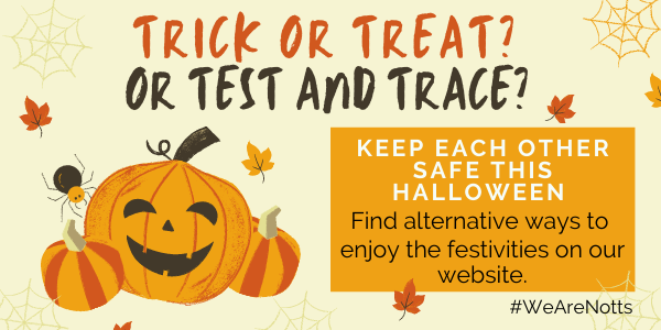Alternative Trick or Treat activities this Halloween