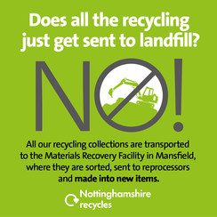 Does all the recycling just get sent to landfill?