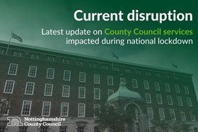Disruption on Council services