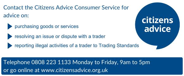 Citizens Advice banner
