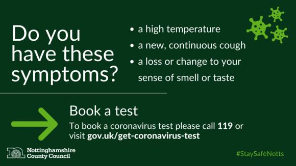 Book coronavirus test