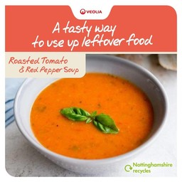Image of tomato soup recipe card