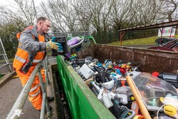 image of recycling centre