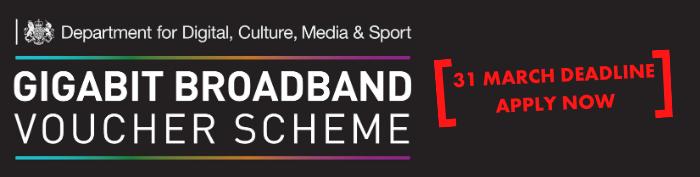 Gigabit Broadband scheme