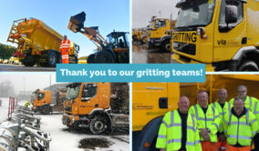 Thank you gritting teams