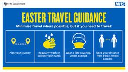 Easter travel guidance