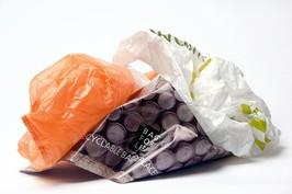 supermarket plastic carrier bags