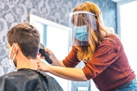 Hairdresser covid secure