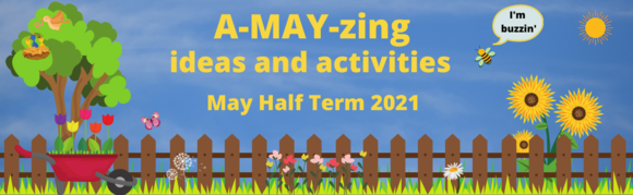 May Half Term events banner