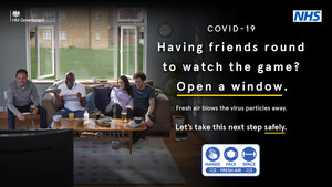 Watching the game at home? Let fresh air in