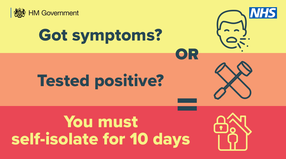 Get a test if you have coronavirus symptoms