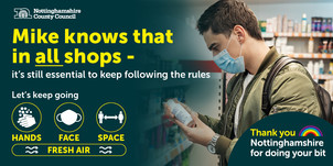 Mike knows in all shops it is essential to keep following the rules