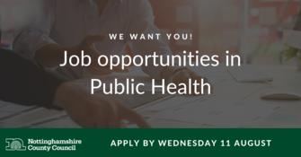 Job opportunities in Public Health