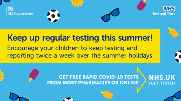 Summer holiday testing