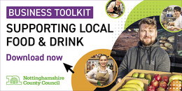 food providers image text reads Business Toolkit supporting local food and drink