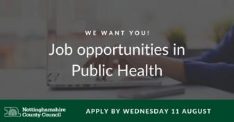 Join the Public Health team!