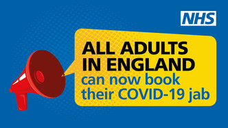 All adults can get their Covid-19 vaccine