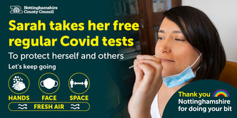 Keep testing for Covid-19