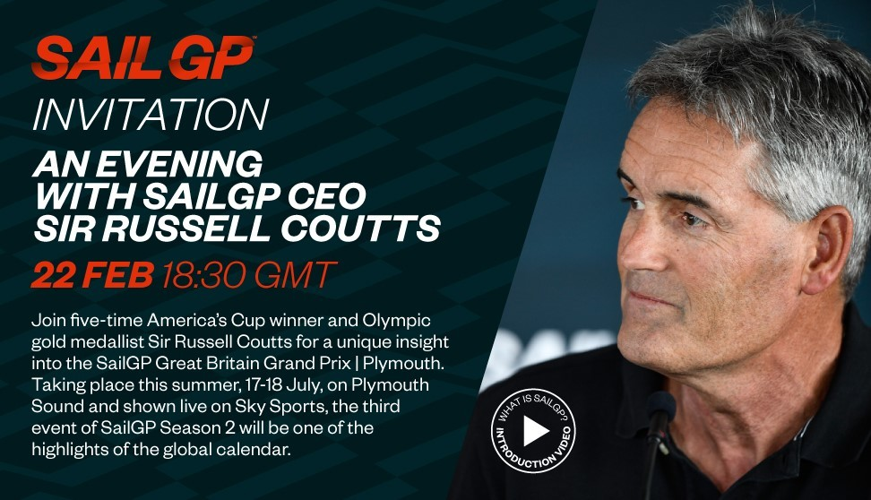 An evening with SailGP CEO Sir Russell Coutts