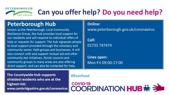 Peterborough Hub infographic