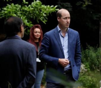 Duke of Cambridge visit photo